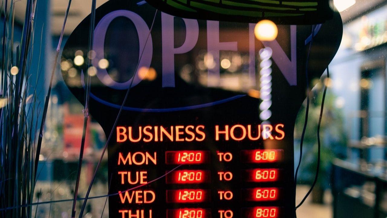 digital menu signs
